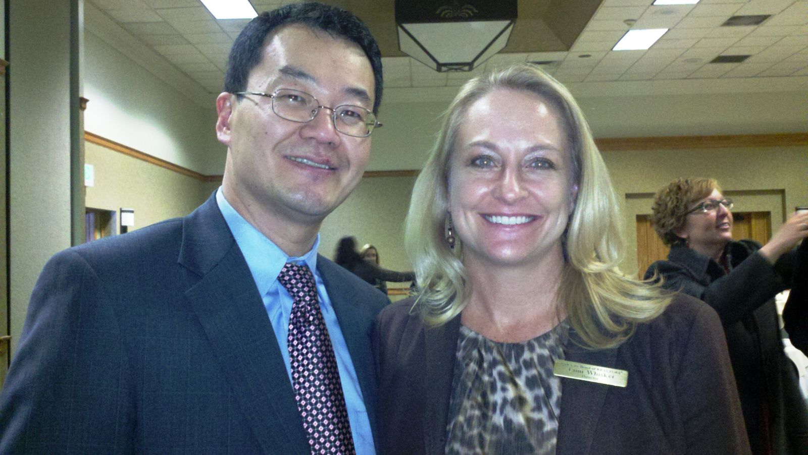 NAR Chief Economst Dr. Yun and President Tami Whisker